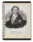 Carl Mayer Spiral Notebook