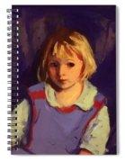 Carl Schleicher 1921 Spiral Notebook
