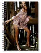Carla's In The Barn Again Spiral Notebook