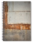 Carlton 14 - Abstract Concrete Wall Spiral Notebook