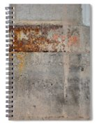 Carlton 16 Concrete Mortar And Rust Spiral Notebook