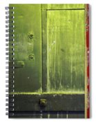 Carlton 6 - Firedoor Abstract Spiral Notebook