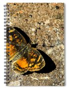 Carme Crescent Spiral Notebook