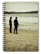 Carmel Beach, Ca Spiral Notebook