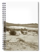 Carmel Beach, Carmel Point And Point Lobos Circa 1925 Spiral Notebook
