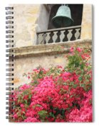 Carmel Mission Bell Spiral Notebook