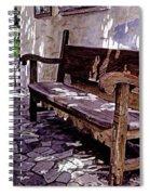 Carmel Mission Bench Spiral Notebook