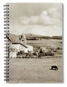 Carmel Mission Circa 1920 Spiral Notebook