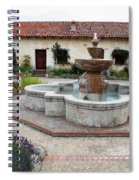Carmel Mission Courtyard Spiral Notebook