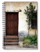 Carmel Mission Door Spiral Notebook