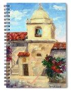 Carmel Mission, Summer Spiral Notebook