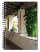 Carmel Mission Walkway Spiral Notebook