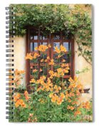 Carmel Mission Window Spiral Notebook