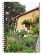Carmel Mission With Path Spiral Notebook