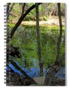 Carmel River At Gilmore Ranch Spiral Notebook