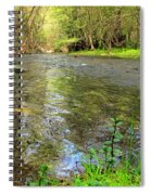 Carmel River Scenic Beauty Spiral Notebook
