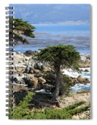 Carmel Seaside With Cypresses Spiral Notebook
