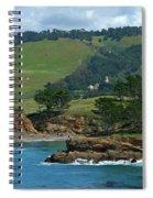 Carmelite Monastery Near Point Lobos Spiral Notebook