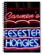 Carmens Cheesesteaks Spiral Notebook