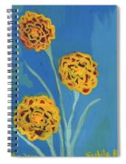 Carnations Against A Summer Sky Spiral Notebook