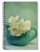 Carnations In A Jar Spiral Notebook
