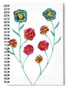 Carnations Spiral Notebook