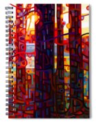 Carnelian Morning Spiral Notebook