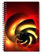 Carnelian Spiral Spiral Notebook