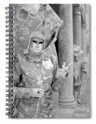Carnevale Veneziano Spiral Notebook