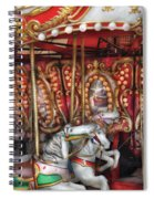 Carnival - The Carousel Spiral Notebook