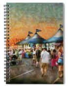 Carnival - Who Wants Gyros Spiral Notebook