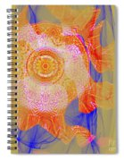 Carnival Abstract 1 Spiral Notebook