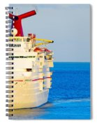 Carnival Cruise Ship Spiral Notebook
