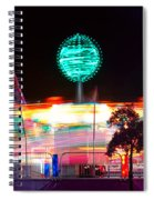 Carnival Excitement Spiral Notebook