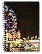 carnival Fun and Food Spiral Notebook