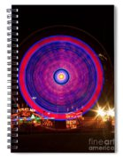 Carnival Hypnosis Spiral Notebook