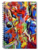 Carnival- Large Work Spiral Notebook