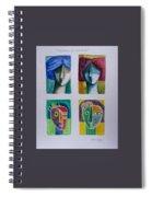 Carnival Masks Spiral Notebook