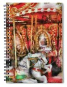 Carnival - The Carousel - Painted Spiral Notebook