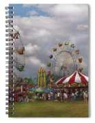 Carnival - Traveling Carnival Spiral Notebook