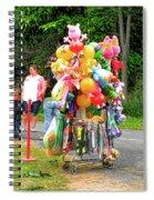 Carnival Vendor 3 Spiral Notebook