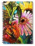 Carnivale Flori Spiral Notebook