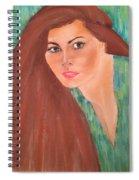 Carol Alt Spiral Notebook
