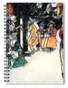 Carol Singers Spiral Notebook