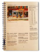 Carole Spandau Listed In  Magazin'art Biennial Guide To Canadian Artists In Galleries 2000-2001 Edit Spiral Notebook