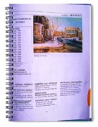 Carole Spandau Listed In Magazin'art Biennial Guide To Canadian Artists In Galleries 2002-2003 Edit Spiral Notebook