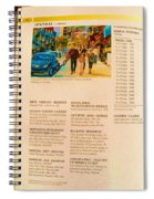 Carole Spandau Listed In Magazin'art Biennial Guide To Canadian Artists In Galleries 2006-2008 Edit Spiral Notebook