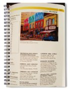 Carole Spandau Listed In Magazin'art Biennial Guide To Canadian Artists In Galleries 2009-2010 Edit Spiral Notebook