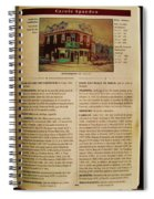 Carole Spandau Listed In The Guide Vallee Peintures Quebecois 1993-1994 Edition Spiral Notebook