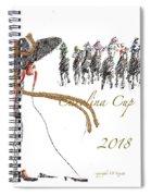Carolina Cup  Spiral Notebook
